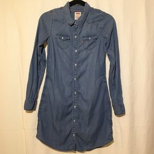 Levi's Girls Long Sleeve Button Down Blouse